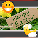 Happy Easter Clock-Weather icon