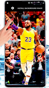 Nba Players Lebron James Basketball Live Wallpaper Apps On Google Play