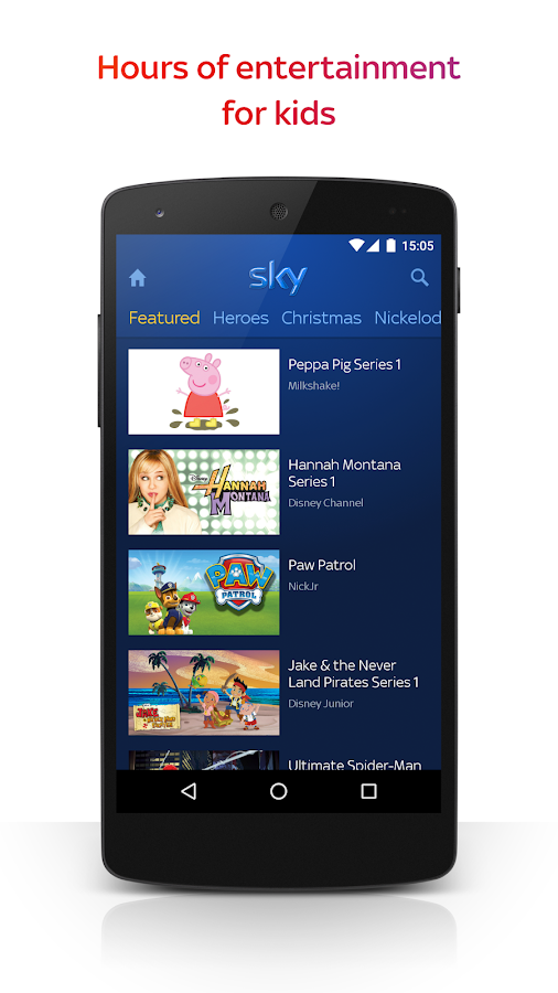 Sky Go- screenshot