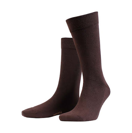 Amanda Christensen True ankle sock dark brown