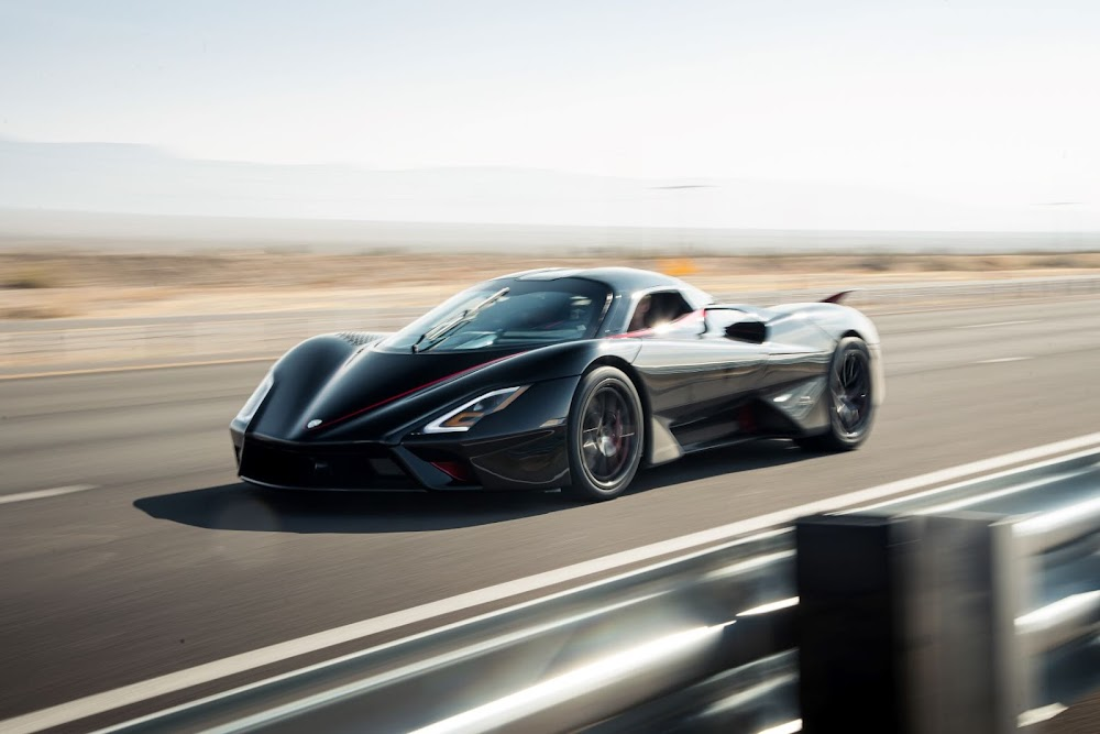 WATCH | SSC Tuatara shatters world production car speed record
