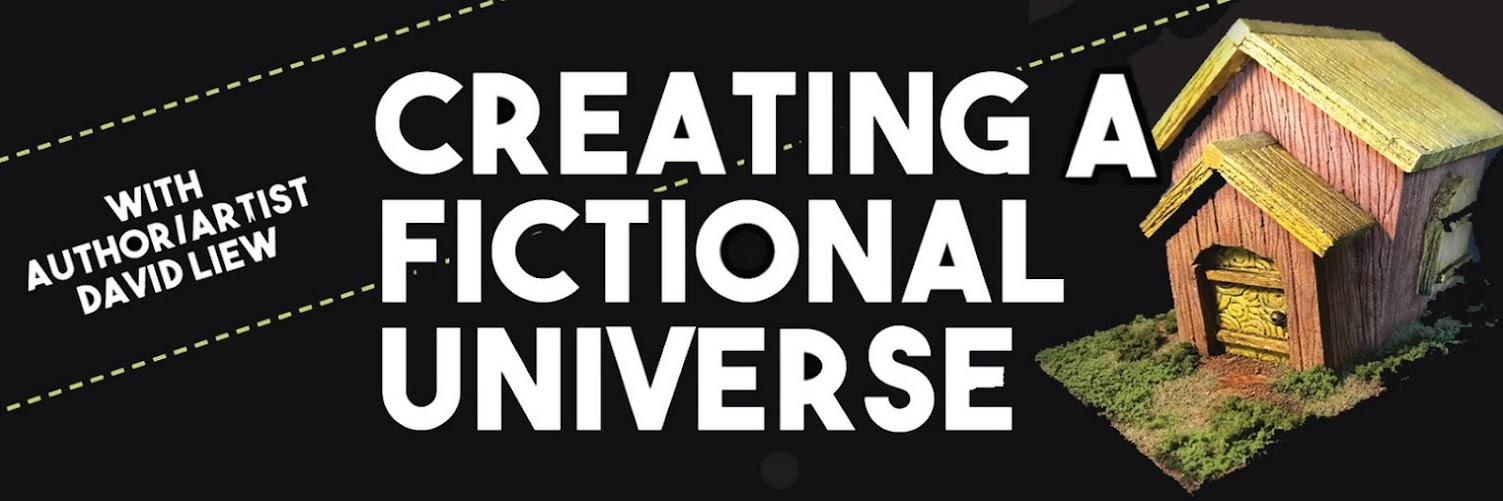 Creating a Fictional Universe with David Liew