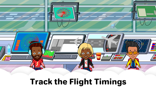 My Airport Town: Kids City Airplane Games for Free screenshots 23
