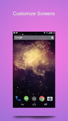 Galaxy Wallpaper - screenshot