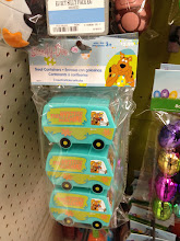 Photo: Zoiks! It took all my focus and reserve not to load my cart with these Mystery Machine candy containers for some future, hypothetical Scooby Doo themed event.  So stinkin' cute!
