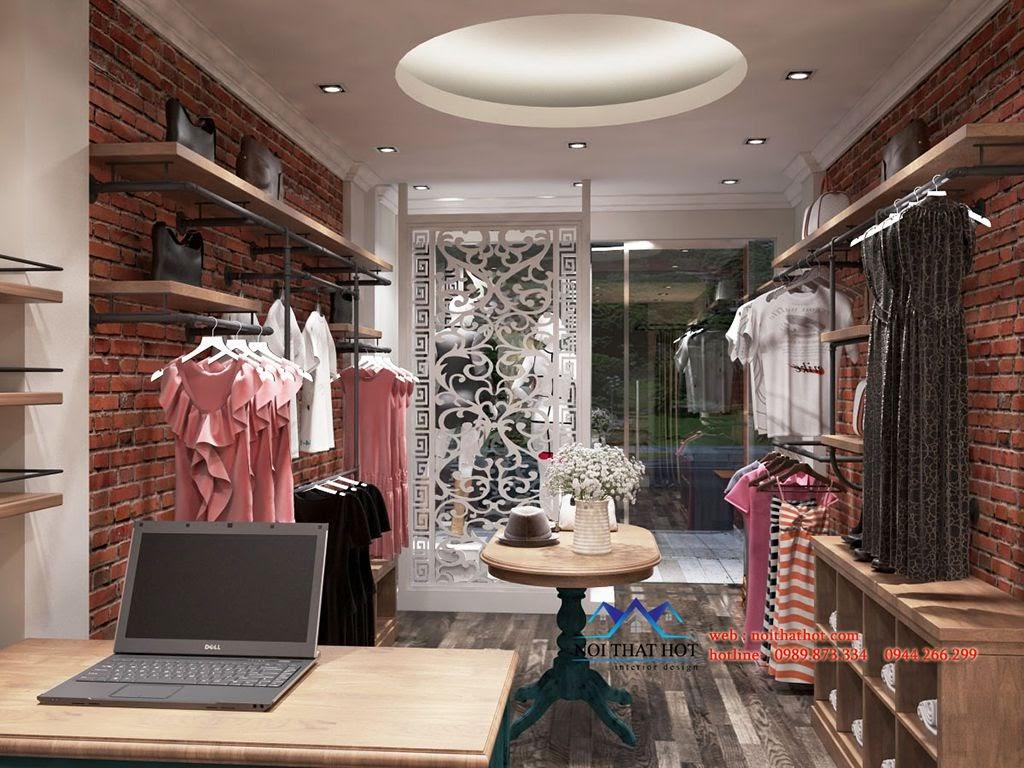 thiết kế shop thời trang nữ ấn tượng và độc đáo