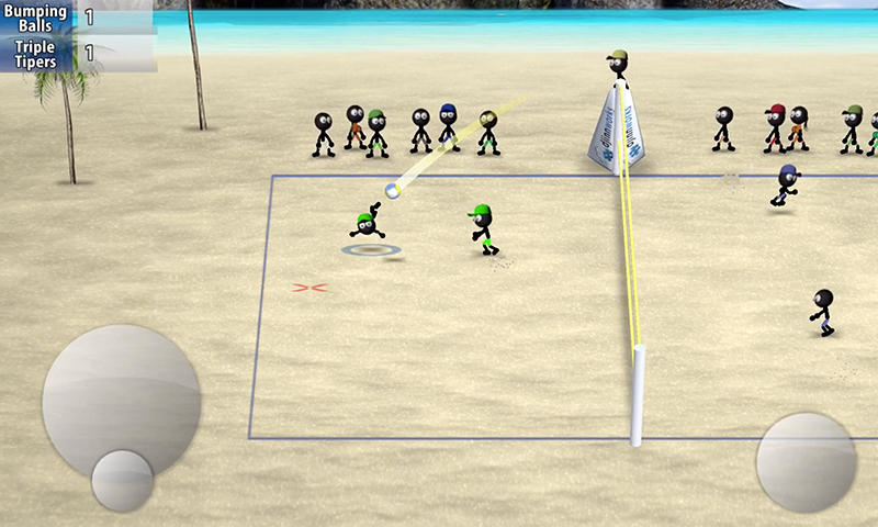 Stickman Volleyball- screenshot