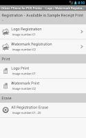 Screenshot of Citizen PDemo for POS Printer