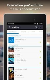 Deezer Music- screenshot thumbnail