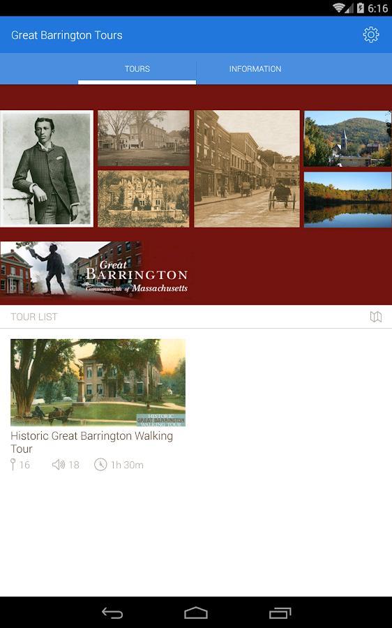 Great Barrington Tours- screenshot