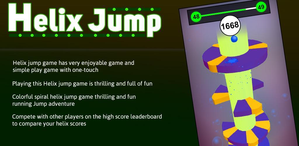 3d Helix Jump Ball Balance Spring Game 1 0 1 Apk Download