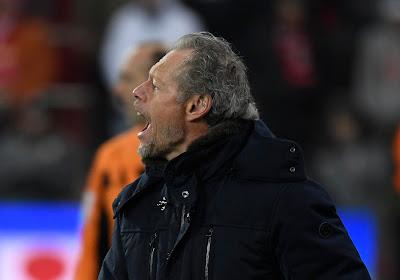 """Soulagé par la victoire, Michel Preud'homme évoque la moins bonne prestation des siens : """"Pas évident de jouer sur ce terrain"""""""
