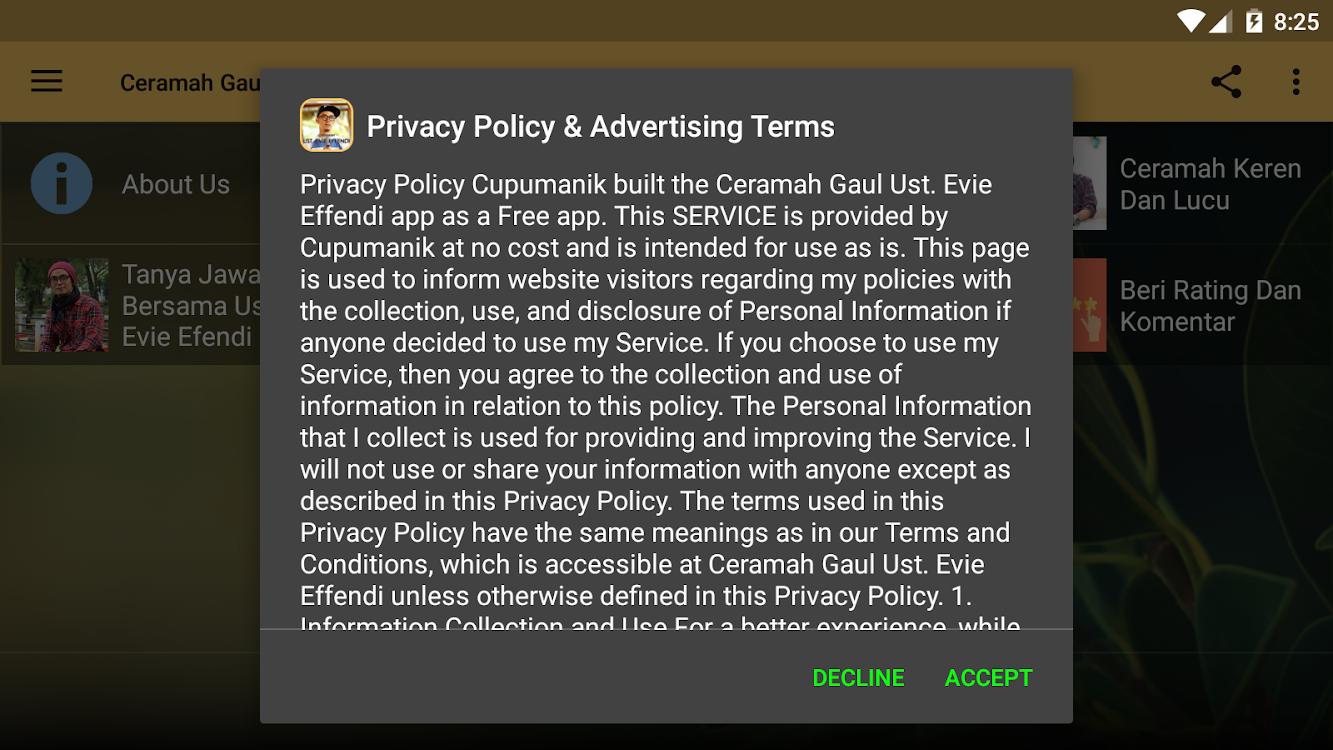Ceramah Sunda Gaul Ust Evie Effendi – Android Alkalmazások
