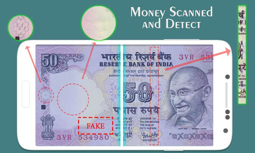 Fake Money Scanner Prank Rupee