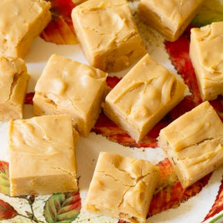Quick Caramel Apple Fudge