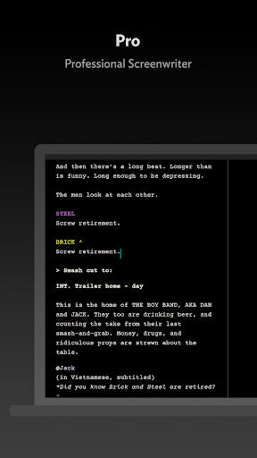 JotterPad - Writer, Screenplay, Novel 12.10.3-pi Screenshots 6