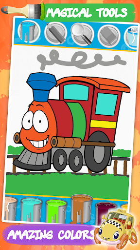 cars coloring pages : cartoon drawing for kids screenshot 3