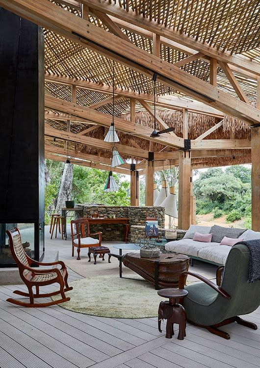 Thornybush's new luxury lodge, Saseka.