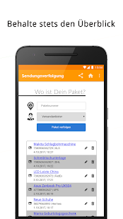 Sendungsverfolgung - DHL, DPD, Hermes, GLS, UPS - náhled