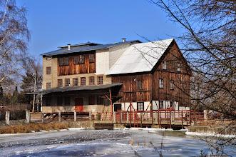 Photo: 42,9 km młyn Suliszew