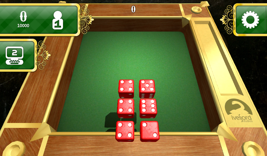 Dice 10000 3D Free Version- screenshot