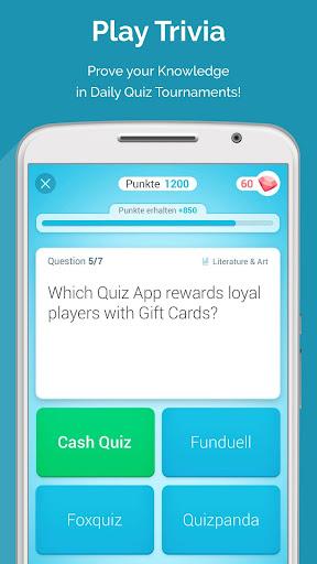 QUIZ REWARDS: Trivia Game, Free Gift Cards Voucher ss1