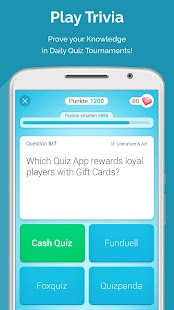 QUIZ REWARDS: Trivia Game, Free Gift Cards Voucher - náhled