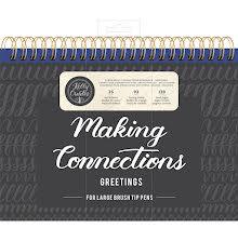 Kelly Creates Large Brush Workbook 11.6X10 128/Pkg - Greetings