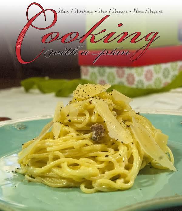 Cold Weather Comfort Food Spaghetti Alla Carbonara Recipe