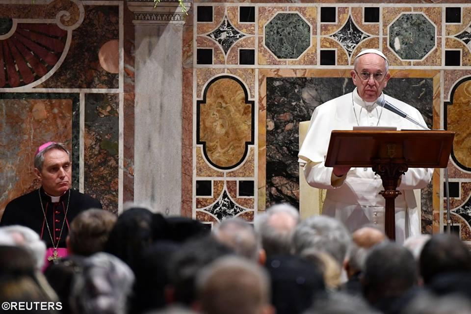 Đức Thánh Cha Phanxico: diễn từ Năm Mới trước Ngoại giao đoàn