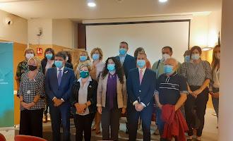 Visita a Almería de la consejera de Igualdad
