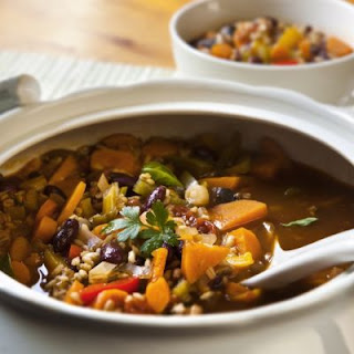 Hearty Barley Vegetable Soup