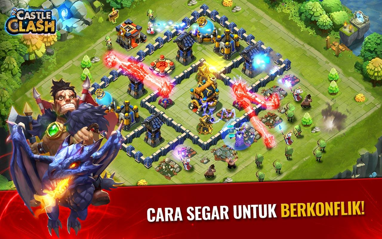 Screenshots of Castle Clash: Era Legenda for iPhone