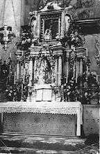 Photo: 3. Ołtarz, przed 1945, fot. Stanisława Czyżewska, nad. Waleria Nowakowska. The church interior before 1939.