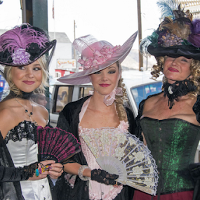Show Girls by Shirley Prothero - People Street & Candids