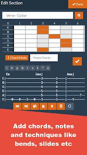 Guitar Notepad - Tab Editor - náhled