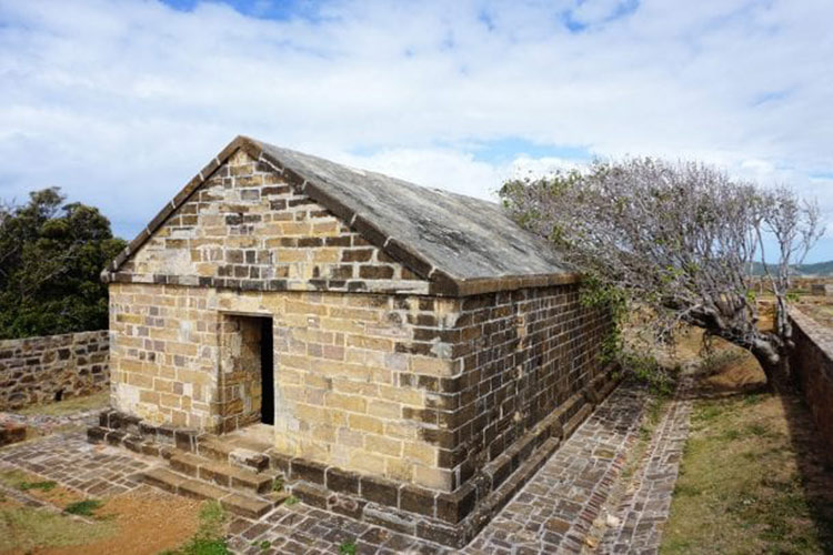 The Blockhouse dates to the 1700s.