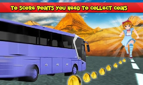 Subway Princess Bus Rush Run screenshot 2