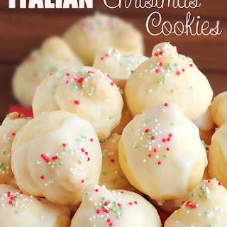 Italian Christmas Cookies.