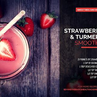 Strawberry & Turmeric Smoothie Recipe