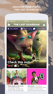 The Last Guardian Amino - náhled