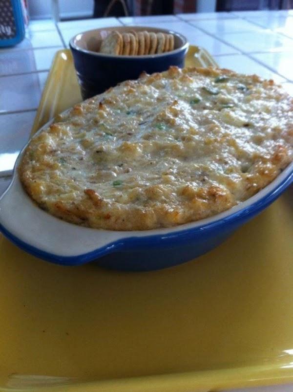Louisiana Hot Crab Dip Recipe