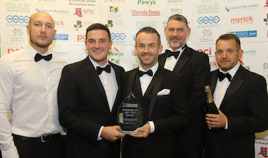 Newtown firm scoops top Powys Business Award