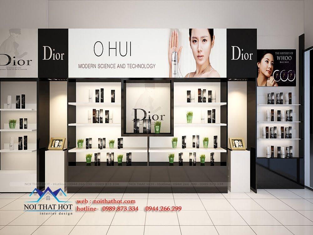 thiết kế shop mỹ phẩm châu âu 7