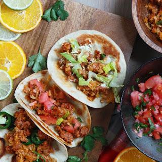Potato & Chorizo Tacos Recipe