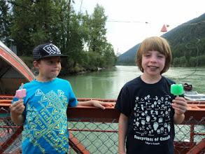 Photo: Brendan (in black) and his friend....wait for it.... Brendan.