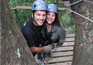 Photo: Canopy zip line with hubby