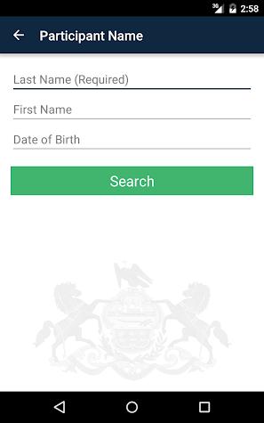 PAeDocket Screenshot