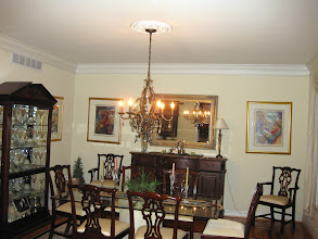 Photo: (Before) Flores' Dining room Medford, NJ