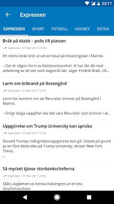 Sweden News (Nyheter) - screenshot